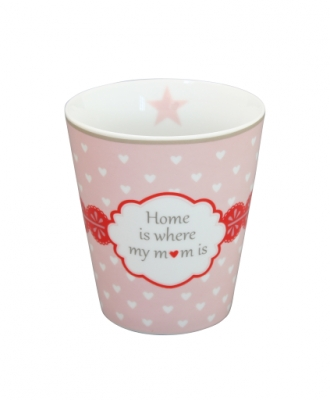 Happy Mug Krasilnikoff-HOME IS WHERE MY MOM IS