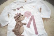 Kindershirt, Geburtstagsshirt, Bär