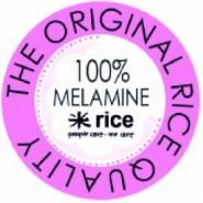 Rice Melamin Schüssel Blumen