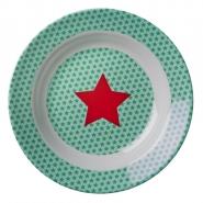 Rice Melamin Kinderteller Star -tief 20 cm Durchmesser